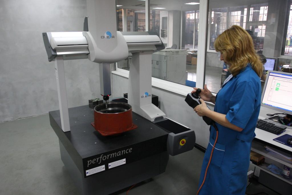 Kontrola jakości elementów wciągników i wciągarek